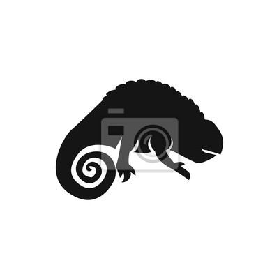 Chamäleon Symbol Abbildung Fototapete Fototapeten Eidechse