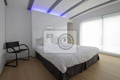 Chambre à coucher moderne fototapete • fototapeten verdoppeln ...