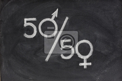 Chancengleichheit zu oder Darstellung