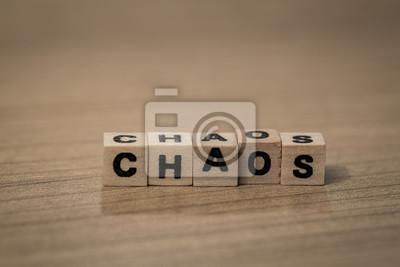 Chaos in Holzwürfel
