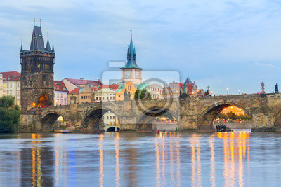 Fototapete Charles bridge