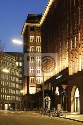 Chilehaus Hamburg Strassen