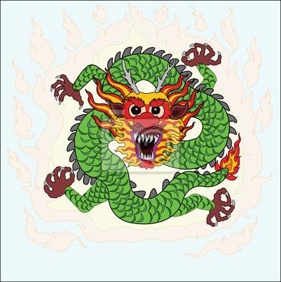 chinesischer drache zeichnen