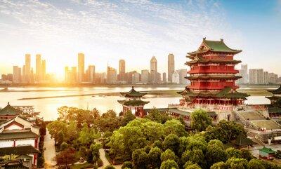 Fototapete Chinesische klassische Architektur