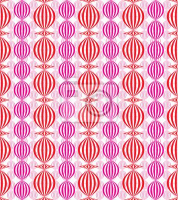 Fototapete Chinesische Lampen nahtlose Muster.