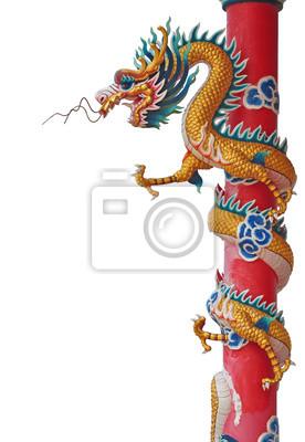 Chinesischen Stil Drachenstatue