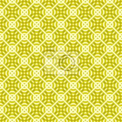 Circle Square Pattern Vector Illustration