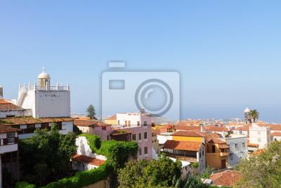 Fototapete cityscape of Orotava, Tenerife, Spain