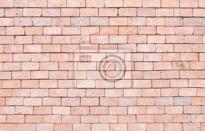 Closeup Oberflache Ziegel Muster An Alten Braunen Stein Mauer