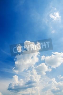 Fototapete Cloudscape der strahlend blauen Himmel
