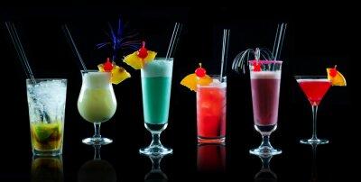 Fototapete Cocktail Kollage 1