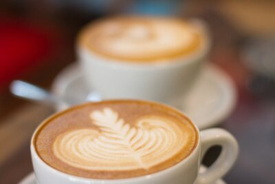 Fototapete Coffee späten Soft-Fokus