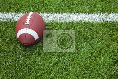 College-Football an der Torlinie