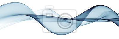 Fototapete Color light blue abstract waves design