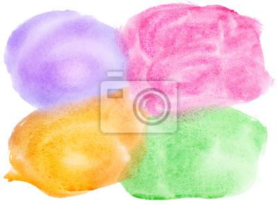 Colorful Aquarell von Hand bemalt Hintergrund.
