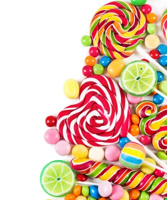 Fototapete Colorful candies
