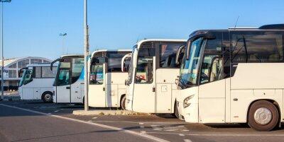 Fototapete Compagnie de bus