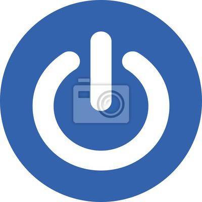 Computer-symbol web-power-schalter-start-technologie elektrische ...