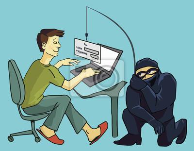Computerkriminalität, Phishing-Betrüger