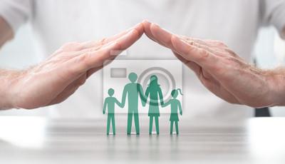 Fototapete Concept of life insurance