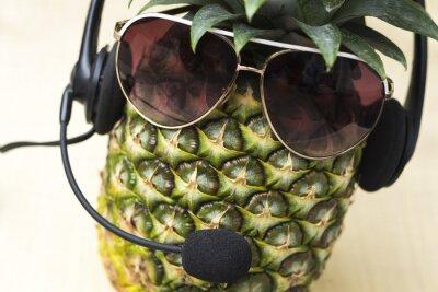 Fototapete Cool Pineapple