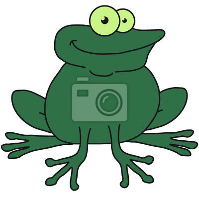 Coole Comic Frosch Fototapete Fototapeten Merry Unke Frosch