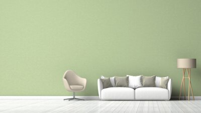 Couch Grune Wand Wohnzimmer Fototapete Fototapeten Laminat