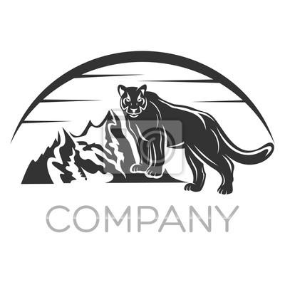 Spitze der Cougar an