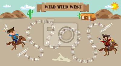 Cowboy-Brettspiel