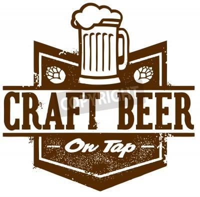 Fototapete Craft Bier vom Faß