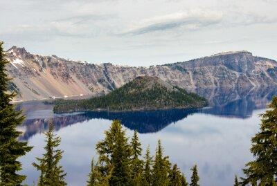 Fototapete Crater Lake Nationalpark entfernt