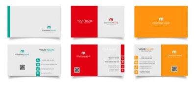 Fototapete creative modern name card and business card