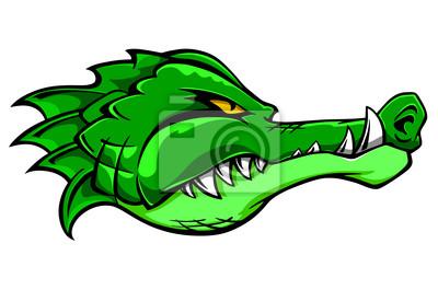 Crocodile Maskottchen