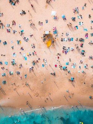 Fototapete Crowded Beach