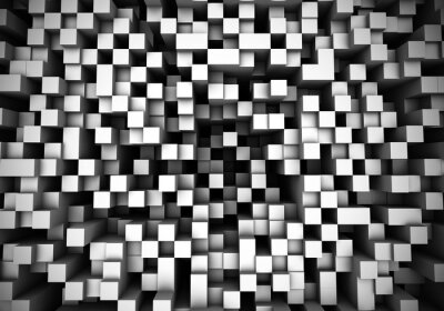 Fototapete Cube Extrusions