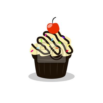 Cup Kuchen Clipart Fototapete Fototapeten Muffin Cupcake