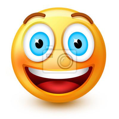 Smiley-Gesicht mit Zähnen
