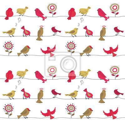 Fantastisch Cartoon Vögel Auf Einem Draht Ideen - Die Besten ...