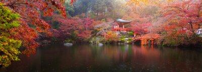 Fototapete Daigo-ji-Tempel im Herbst