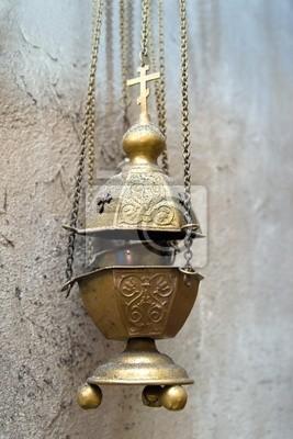 Das Bild der Subjekte der Kirche Utensilien