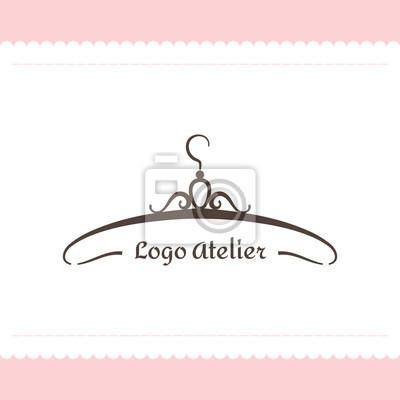 Das Logo Atelier Vector Vorlage Für Die Modebranche