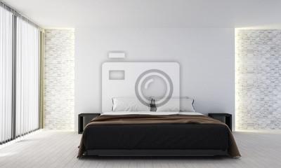 Das moderne schlafzimmer interieur design fototapete • fototapeten ...