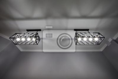 Moderne Kronleuchter Bilder ~ Deckenbeleuchtung moderne kronleuchter weiße decke fototapete