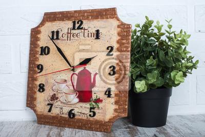 Decoupage Uhr Design Sache Fur Die Kuche Oder Wohnzimmer