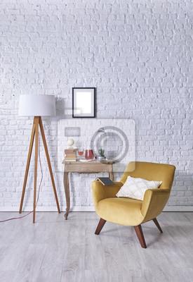 Dekoration Modernes Zimmer Sofa Und Decke Design Fototapete