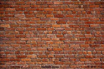 Fototapete der alte rote Backsteinmauer