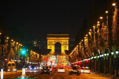Fototapete Der Arc de Triomphe de l'Etoile in Paris
