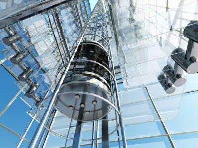 Fototapete Der Aufzug