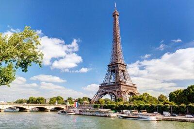 Fototapete Der Eiffelturm