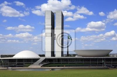 Der Nationalkongress von Brasilien.